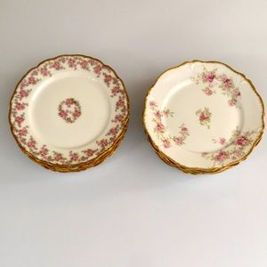 Limoges Antique Bread and butter plates set of 12